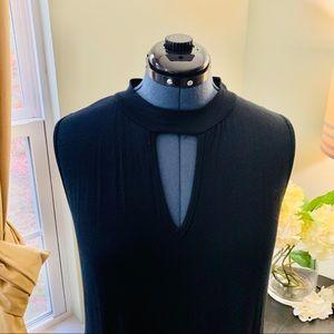 French Atmosphere Dresses - French Atmosphere Sleeveless Keyhole Dress Size 3X